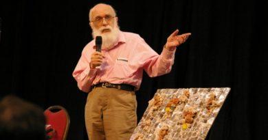 James Randi 2007 at Amazing Meeting