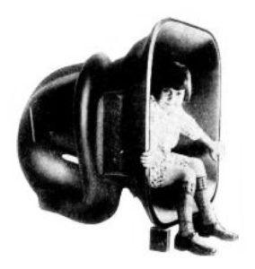 Horn Speaker with Girl