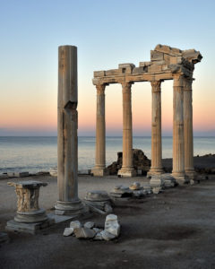 Sunrise at the Temple of Apollo