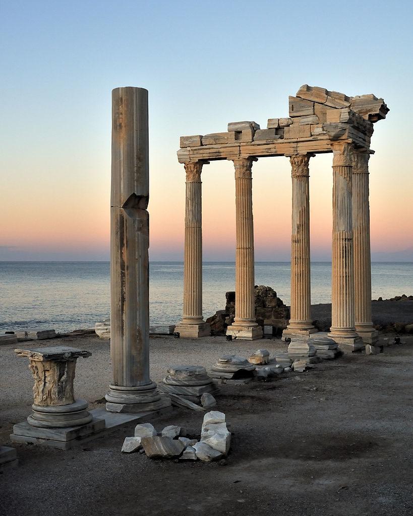 Sunrise at the Temple of Apollo