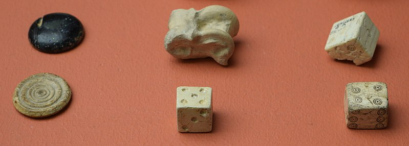 Dice from Museo de Albacete